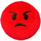 Almofada Emoji de Furioso - 32cm