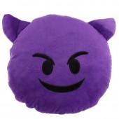 Almofada Emoji - Demónio 27cm