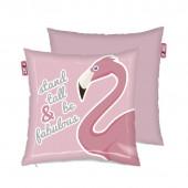 Almofada Flamingo com fecho