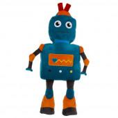 Almofada Forma Robot Azul