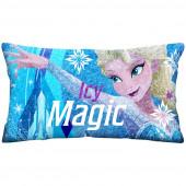 Almofada Jumbo c/ Glitter Frozen Icy Mágic