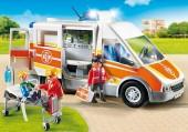 Ambulância com Luzes e Som Playmobil