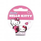 Anel com Figura Metal Hello Kitty