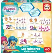 Aprendo a conhecer os números Shimmer e Shine