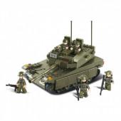 Army LF Merkava Tank 344 pcs Sluban