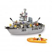 Army Patrulha Boat 461 pcs