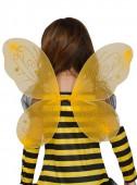 Asas Amarelas Abelha Criança