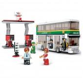 Autocarro 2 Andares com Estação Bricks