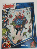 Autocolantes Avengers - 8 folhas
