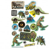 Autocolantes História Natural Dinossauros