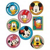 Autocolantes têxtil Mickey e Friends formas diferentes