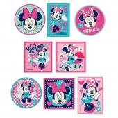 Autocolantes têxtil Minnie Mouse - diversos