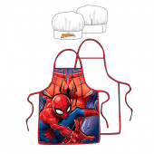 Avental + Chapéu Chef Cozinha Spiderman