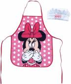 Avental + Chapéu Cozinha Minnie Disney