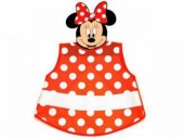 Avental escolar s/ mangas Disney Minnie Dots