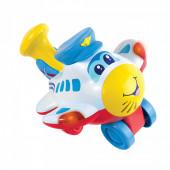 Avião Divertido Luz, Sons e Movimentos Happy Kid 18+