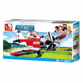 Aviation Avião Quinta 129 pcs Sluban