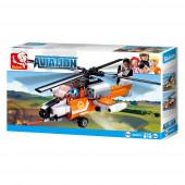 Aviation Helicóptero Incêndio 129 pcs Sluban