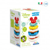 Baby Clementoni Pirâmide Argolas Mickey