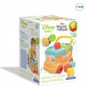 Baby Clementoni Winnie The Pooh Autocarro Formas e Cores
