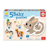 Baby Puzzle A Granja