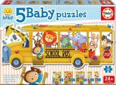 Baby Puzzle Autocarro dos Animaizinhos