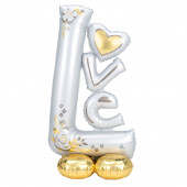 Balão AirLoonz Love Wedding 147cm