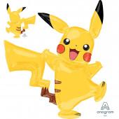 Balão AirWalker Pikachu Pokémon 139cm