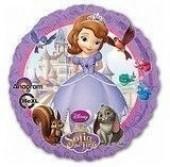 Balão Aniversário Princesa Sofia (43cm)