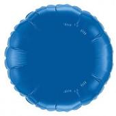 Balão Azul Royal Metalizado 45cm