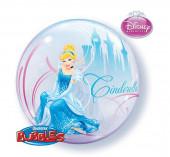 Balão Bubble Cinderela