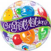 Balão Bubble Congratulations