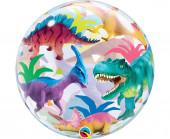 Balão Bubble Dinossauros 56cm