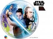 Balão Bubble Star Wars - The Last Jedi 56cm