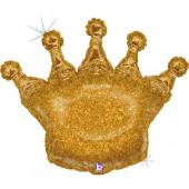 Balão Coroa Glitter 91cm