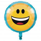 Balão Emoji Sorridente
