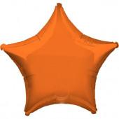 Balão Estrela Laranja Metalizado 45cm (18