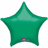 Balão Estrela Metalizado Verde