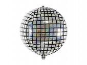 Balão Foil Bola Disco 40cm