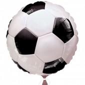 Balão Foil Bola Futebol 45cm