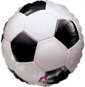 Balão Foil Bola Futebol 46cm
