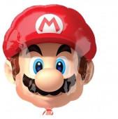 Balão Foil Cabeça Super Mario