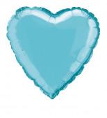 Balão Foil Coração Azul Bebé 46cm
