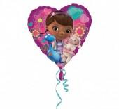 Balão foil Coração Doutora Brinquedos