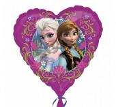 Balão Foil Coração Frozen 43cm