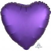Balão Foil Coração Púrpura Royal Acetinado 43cm