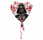 Balão Foil Coração Star Wars 43cm