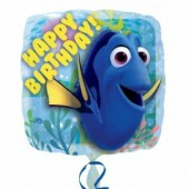 Balão foil Disney Dory Happy Birthday