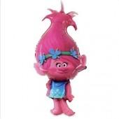 Balão Foil dos Trolls com a Poppy