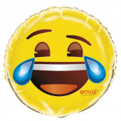 Balão Foil Emoji Chorar de Rir 18